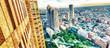 Aerial view of Tokyo from Shinjuku