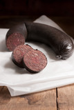 British black pudding or blood sausage