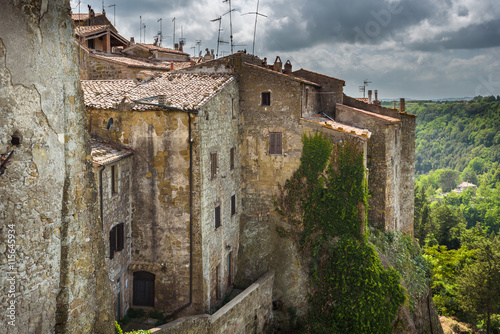 Abandoned nooks miraculously beautiful town in Tuscany. © gentelmenit