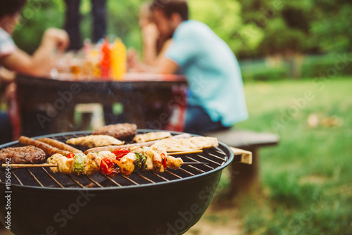 Time for barbecue Poster