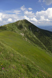 Big Krivan, the highest Peak in Mountains Little Fatra in Slovakia