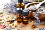 essential oils with dried herbs - 115709776