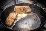 Loin pork meat