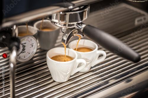Poster Professional espresso machine
