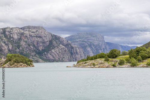 Fjord in Norway, Scandinavia