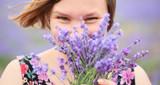 Violet color of summer