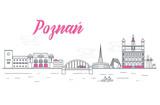 Panorama miasta Poznań