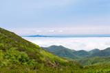 雲海に浮かぶ島