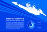 sport artwork design, vector