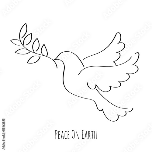 Dove Symbol Of Peace Vector Illustration Buy Photos Ap Images