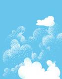 Cielo e nuvole di primavera