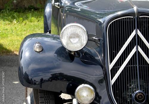 obraz PCV vieilles calandres,véhicules anciens,voitures de collection