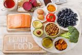 Fototapety Good Foods for brain.