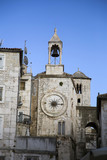 Old city clock in Split, Croatia