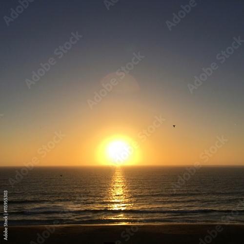 Sunset at Redondo beach