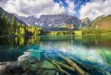 mountain lake in the Italian Alps