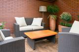 Outdoor furniture in the garden - 116018749