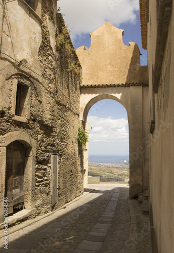 The ancient town of Gerace, Calabria, Southern Italy