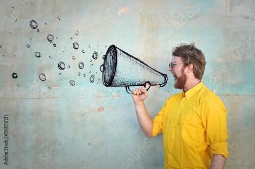 mata magnetyczna Invisible megaphone