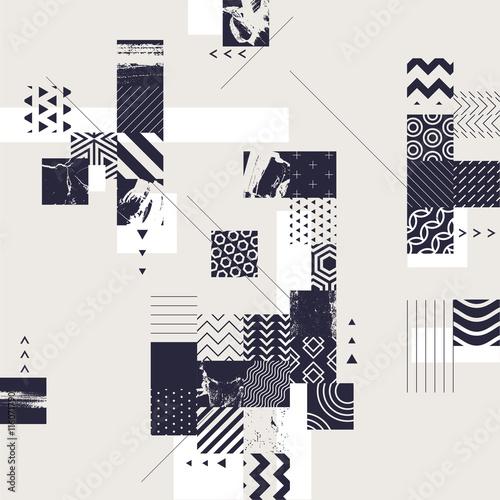 Fototapeta Abstract modern geometric background