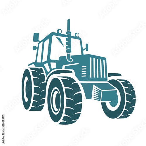 Poster Farm tractor