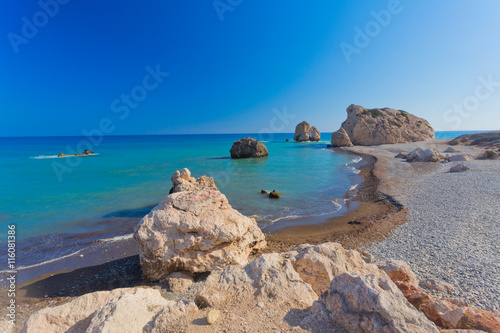 Fotobehang Cyprus Aphrodite's birthplace in Paphos, Cyprus