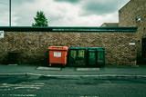 Cassonetti della spazzatura in Inghilterra