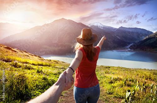 Poster Follow me to Mountain Lake