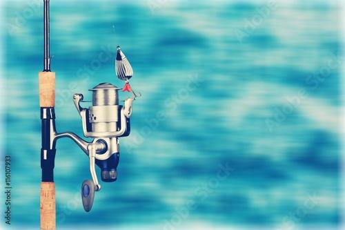 Fishing. Poster