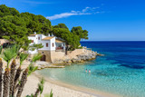 Fototapety Cala Gat at Ratjada, Mallorca - beautiful beach and coast