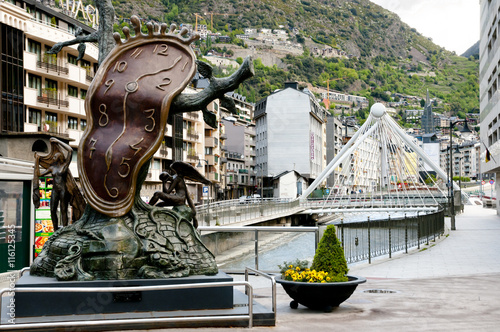 Poster Nobility of Time Statue - Andorra