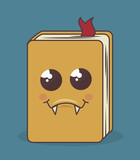 book character isolated icon design, vector illustration  graphic