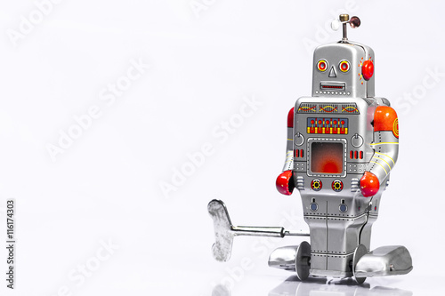 Poster Classic robot toys