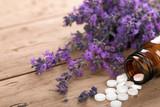 Fototapety Schüssler Salze mit Lavendel