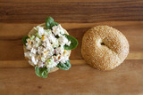 Chicken Salad Bagel Sandwich