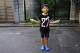 縄跳び 練習 飛ぶ 楽しい 笑顔