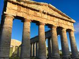 Tempio greco di Segesta in Sicilia