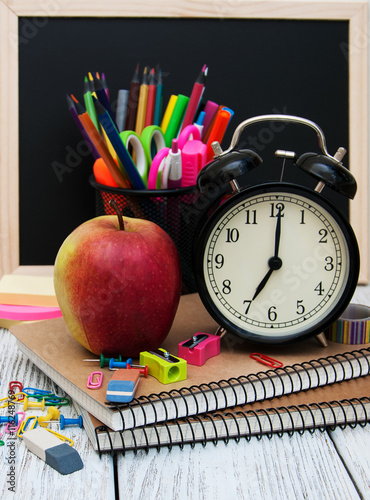 Plagát, Obraz School office supplies