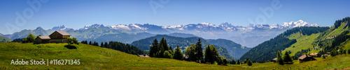 Papiers peints Photos panoramiques Panorama et Mont Blanc