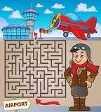 Maze 3 with aviation thematics 1