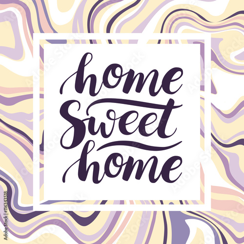 Home Sweet Home. Vector conceptual