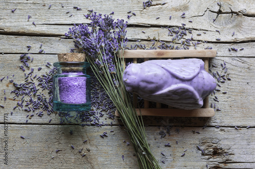 Poster Lavendel Lavande, Lavandin et Produits de soins