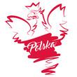 Polska - symbol, logo, orzeł