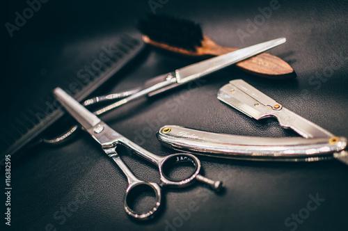 Fototapeta Outils barbier