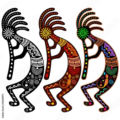 Kokopelli - Set of 3 Colors