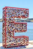 Corações com mensagens de Amor em Lisboa