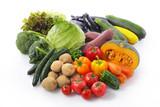 Fototapety 野菜の集合 Vegetable set