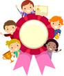Stickman Kids Awards Ribbon