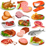 Poultry and Meat Product Food Collection