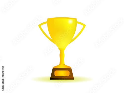 Foto op Canvas winner cup